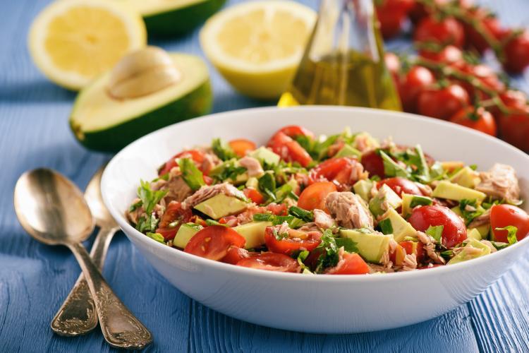 Salade créole au thon