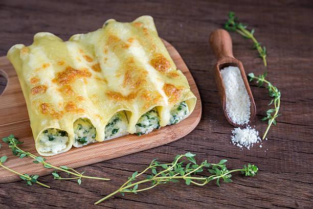 Cannellonis au fromage de chèvre