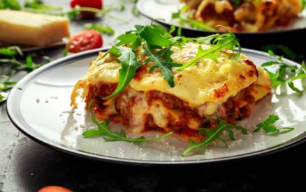 Lasagnes à la bolognaise au bœuf