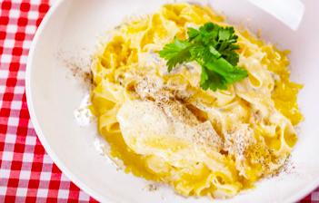 Pasta crème aux quatre fromages