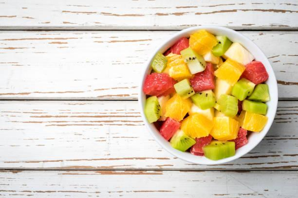Salade de fruits au rhum