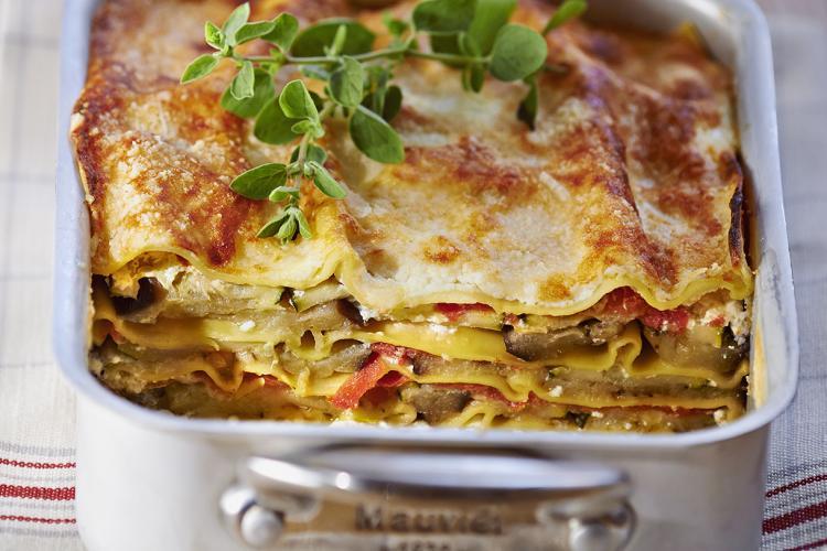Lasagnes végétariennes aux légumes du soleil