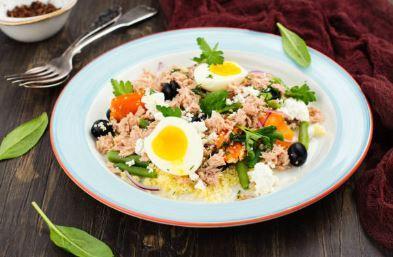 Salade de riz à la provençale