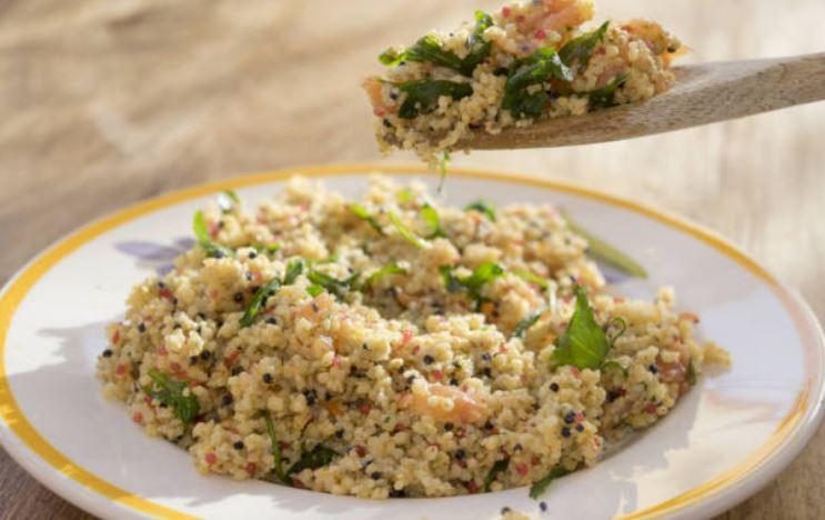 Taboulé au saumon (gluten)