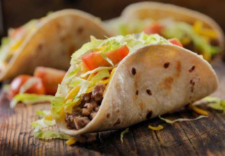 Tacos bœuf et patate douce