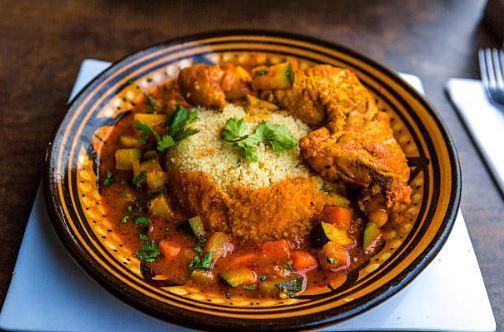 Couscous au poulet (gluten)