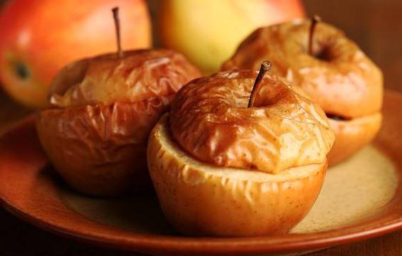 Pomme au four amandine