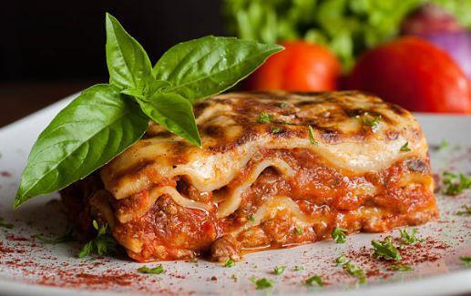 Lasagnes à la bolognaise (gluten, lactose)