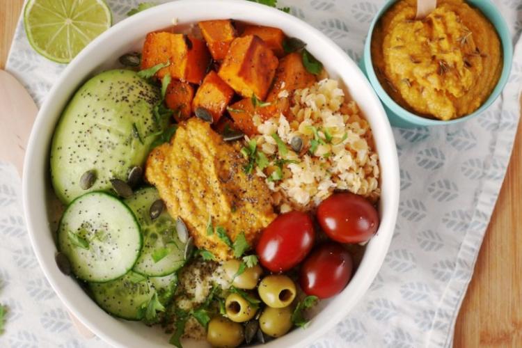 Bouddha bowl végétarien