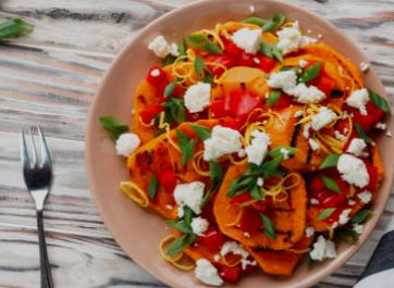 Salade de carottes façon marocaine