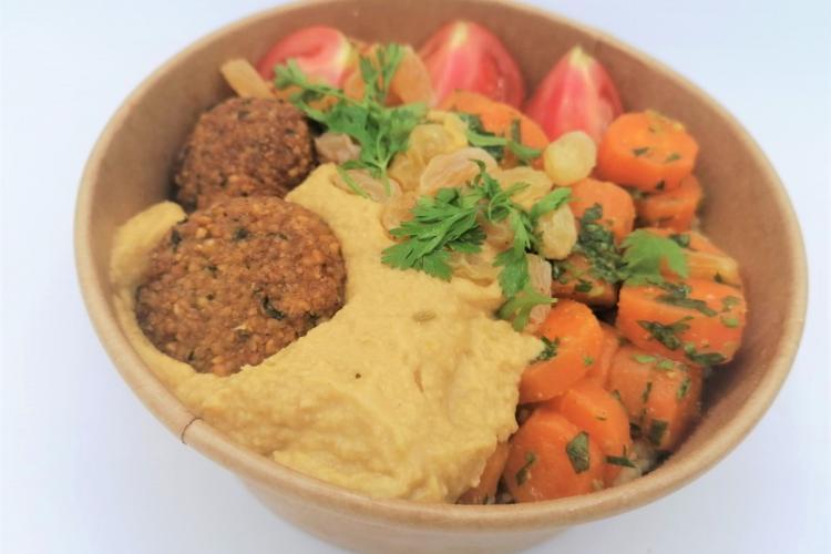 Bowl veggie à la libanaise