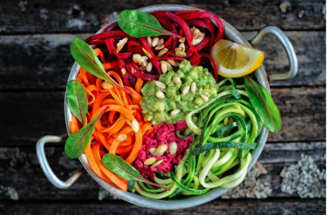 Buddha bowl au guacamole