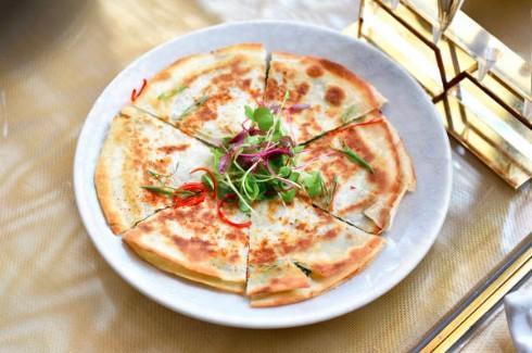 Quesadillas aux 3 fromages