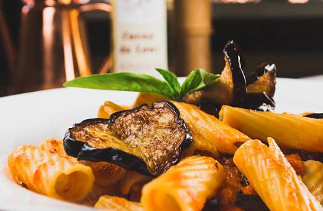 Tortiglionis aux courgettes et au gorgonzola