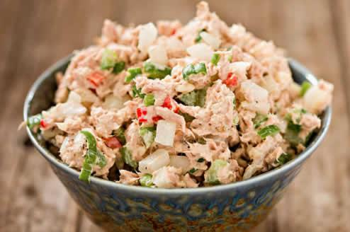 Salade composée thon haricots verts