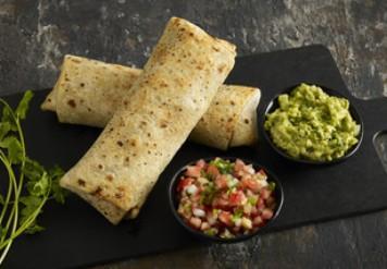 Burrito guacamole