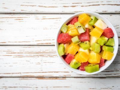 Salade de fruits vanille verveine