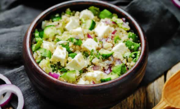 Salade de quinoa aigre-douce