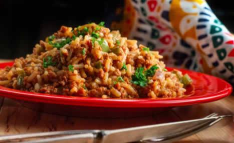 Riz et légumes sautés au gingembre