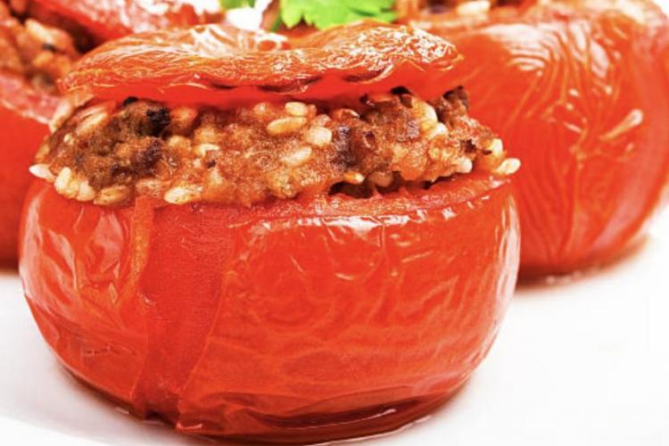 Tomate farcie à la créole