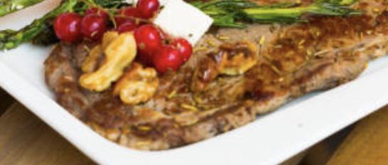 Spécial Noël : Mignon de porc aux airelles et huile de truffe