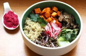 Buddha bowl  aux légumes d'hiver