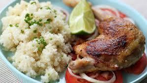 Attiéké poulet