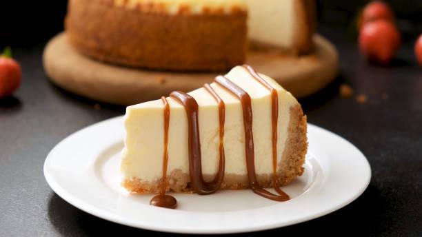 Cheesecake caramel spéculoos