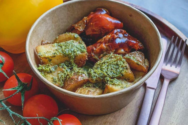 Pilons de poulet grillés sauce barbecue