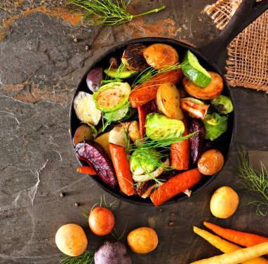 Poêlée de légumes à la libanaise