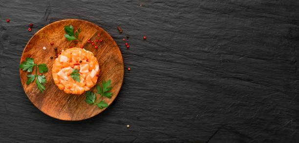 Tartare saumon gingembre