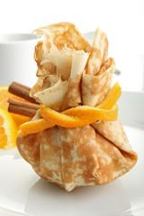 Aumônière pomme et mangue