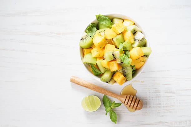 Salade de fruits exotiques vanillée