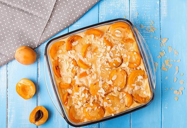 Clafouti aux oreillons d'abricots