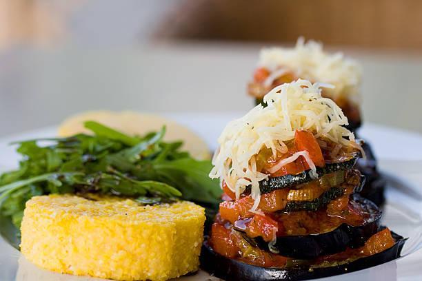 Tian provençal et polenta crémeuse