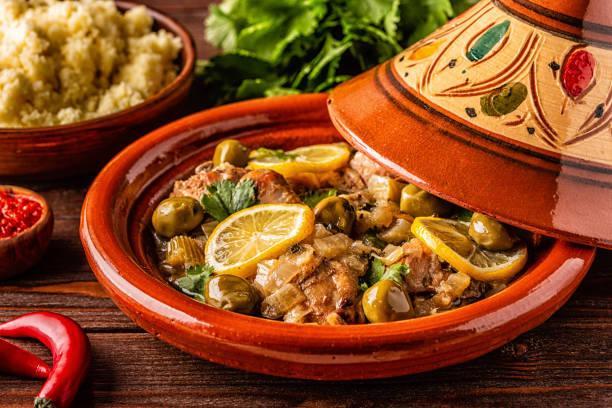 Tajine au veau et aux olives