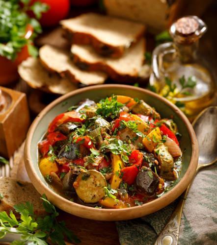 Fricassée de légumes aux graines