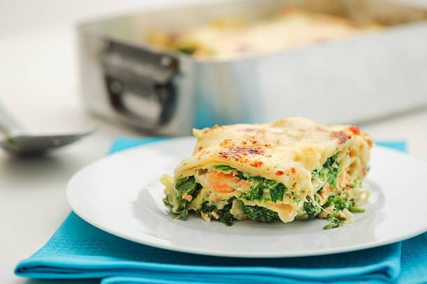 Lasagnes saumon ricotta