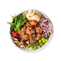 Poke bowl thaï poisson blanc