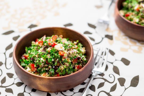 Buddha bowl chèvre quinoa