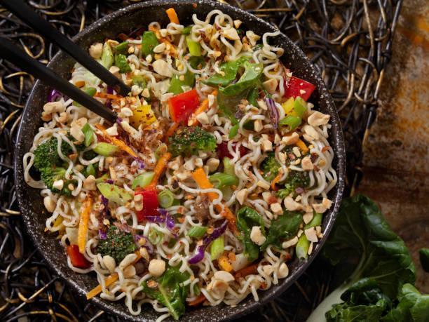 Noodle champignons gingembre