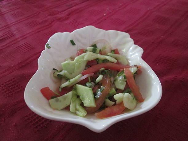 Rougail de concombre épicé