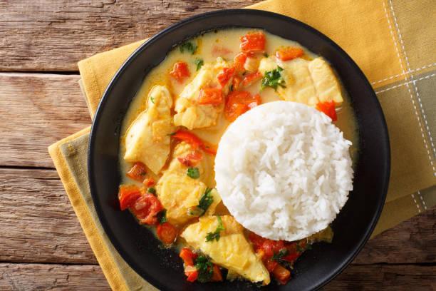 Curry de poisson à la coco