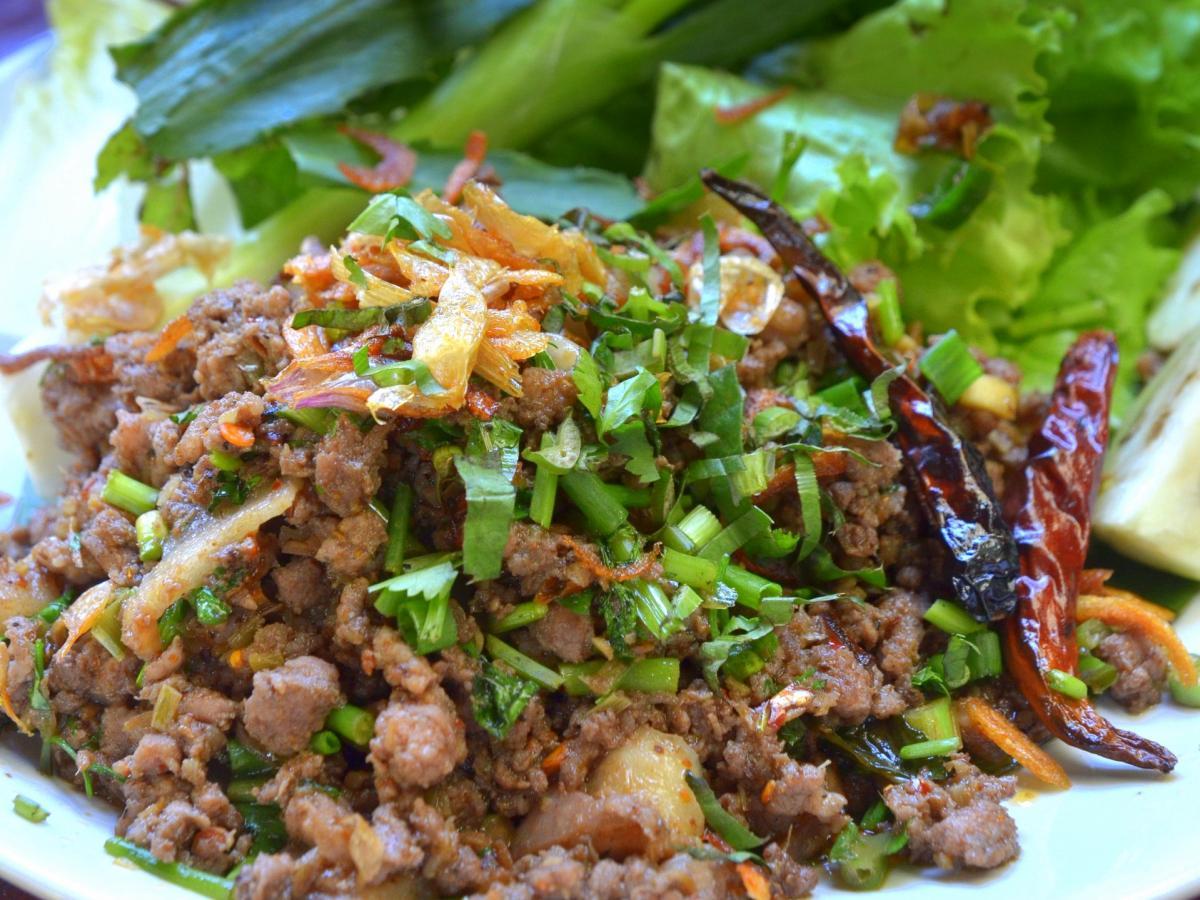 Bœuf lap neua à la laotienne