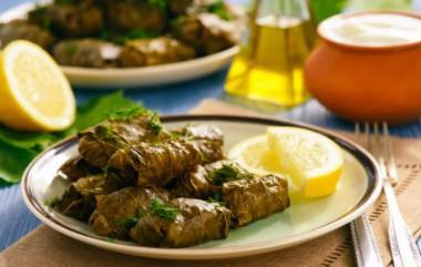Feuilles de vigne farcies à la turque