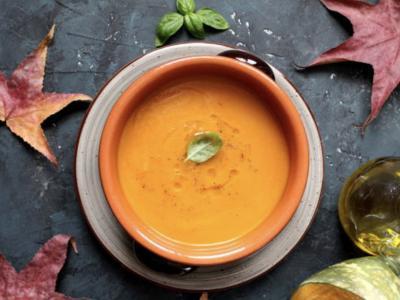 Velouté potiron curry