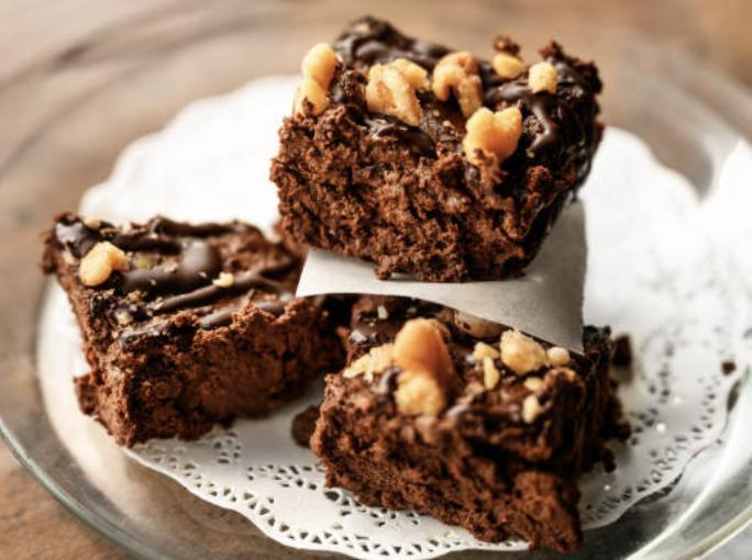 Brownie noix amandes