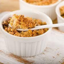 Crumble spéculoos fromage blanc
