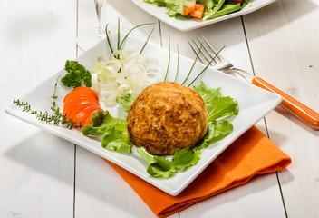 Croquette de thon au gingembre