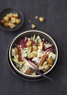 Salade d'endives bleu cajou